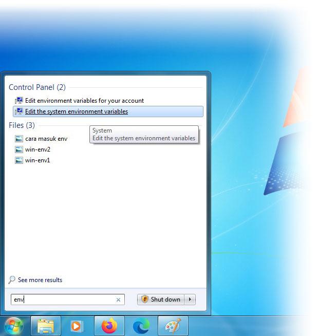 Quick access Windows path environment variable